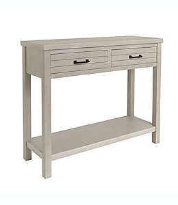 Mesa consola Bee & Willow™ Home color blanco deslavado