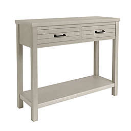 Bee & Willow™ Home 2-Drawer Console Table in White Wash