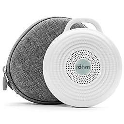 Yogasleep™ Rohm Sound Machine and Travel Case in White/Grey