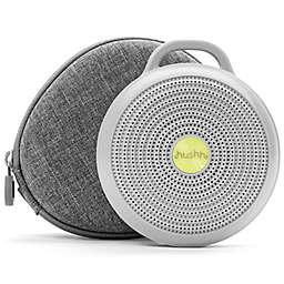 Yogasleep™ Hushh Sound Machine and Travel Case in White/Grey
