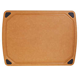 Our Table™ 12.76-Inch x 17.28-Inch Wood Fiber Cutting Board with Juice Well