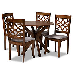Baxton Studio Aimee Dining Set