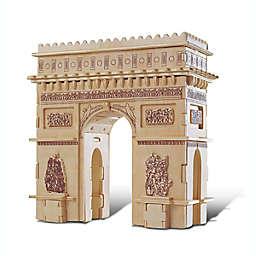 Puzzled® 115-Piece Arch de Triumphe 3D Wooden Puzzle