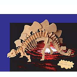 Puzzled Stegosaurus 51-Piece 3D Wooden Puzzle