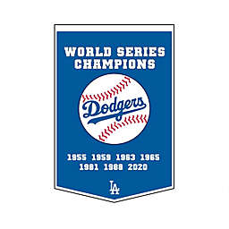 MLB Los Angeles Dodgers World Series Champions Dynasty Banner