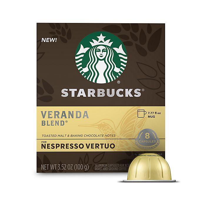 Alternate image 1 for Starbucks® by Nespresso® Vertuo Line Veranda Coffee Capsules 8-Count