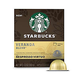 Starbucks® by Nespresso® Vertuo Line Veranda Coffee Capsules 8-Count