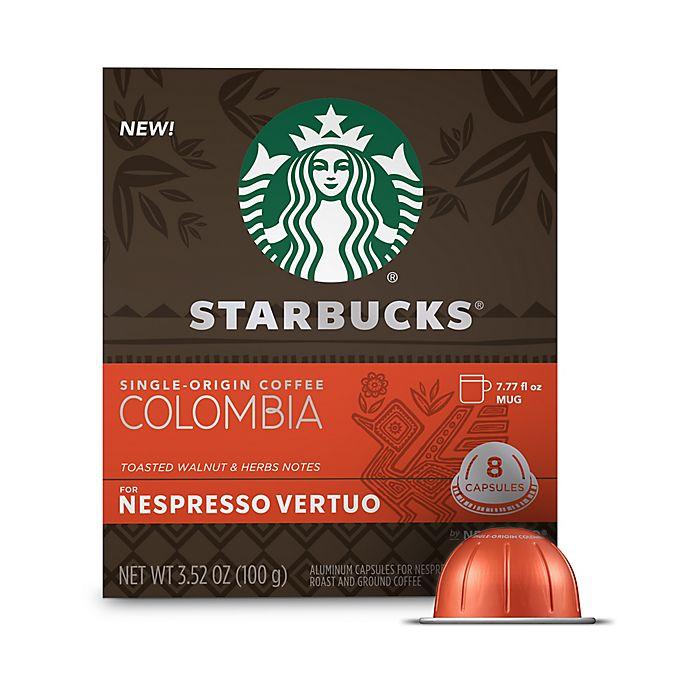 Alternate image 1 for Starbucks® by Nespresso® Vertuo Line Single-Origin Colombia Coffee Capsules 8-Count