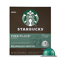 Starbucks® by Nespresso® VertuoLine Pike Place Coffee Capsules 8-Count