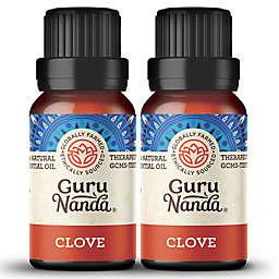 Guru Nanda® 2-Pack 15mL Clove Essential Oil