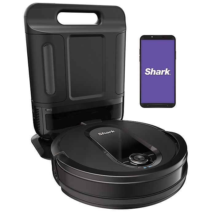 Alternate image 1 for Shark IQ Robot Self-Empty™ XL RV1001AE Robot Vacuum with IQ Navigation, Home Mapping, Wi‐Fi