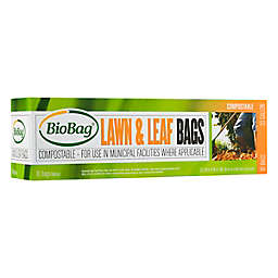 BioBag® 10-Count 33-Gallon Lawn & Leaf Compostable Bags