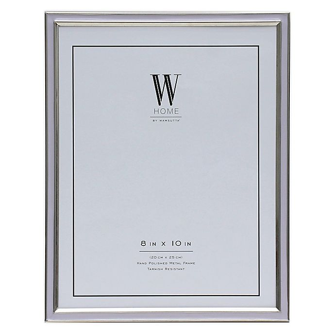 Alternate image 1 for W Home™ Enamel 8-Inch x 10-Inch Picture Frame in Lavender