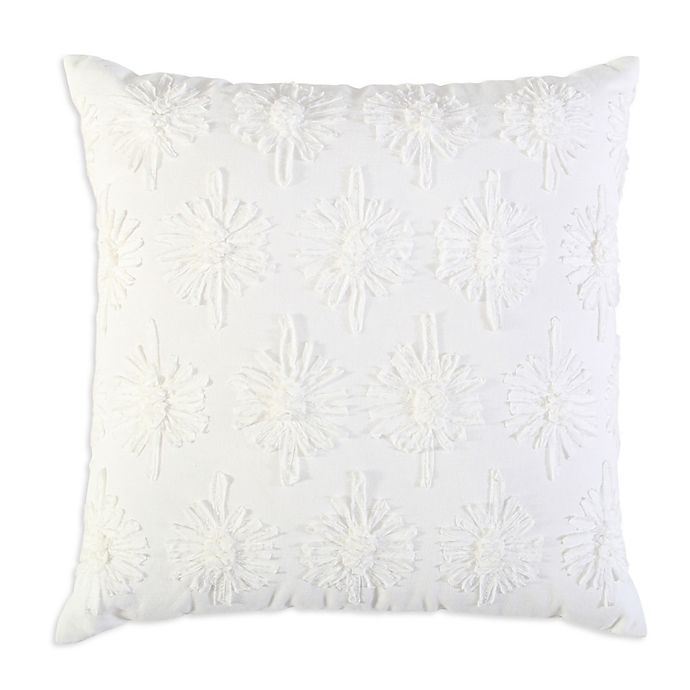 Alternate image 1 for Bee & Willow™ Floral Square Throw Pillow