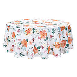 Spring Jubilee Floral 70-Inch Round Tablecloth