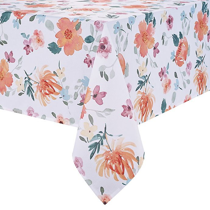 Alternate image 1 for Spring Jubilee Floral Table Linen Collection