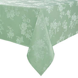 Spring Jubilee Damask 60-Inch x 144-Inch Oblong Tablecloth in Green