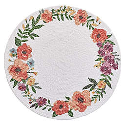Spring Jubilee Round Floral Placemat