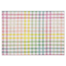 Spring Jubilee Plaid Placemats (Set of 4)
