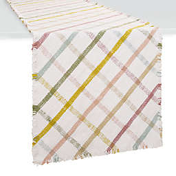 Spring Jubilee Mod Plaid Table Linen Collection
