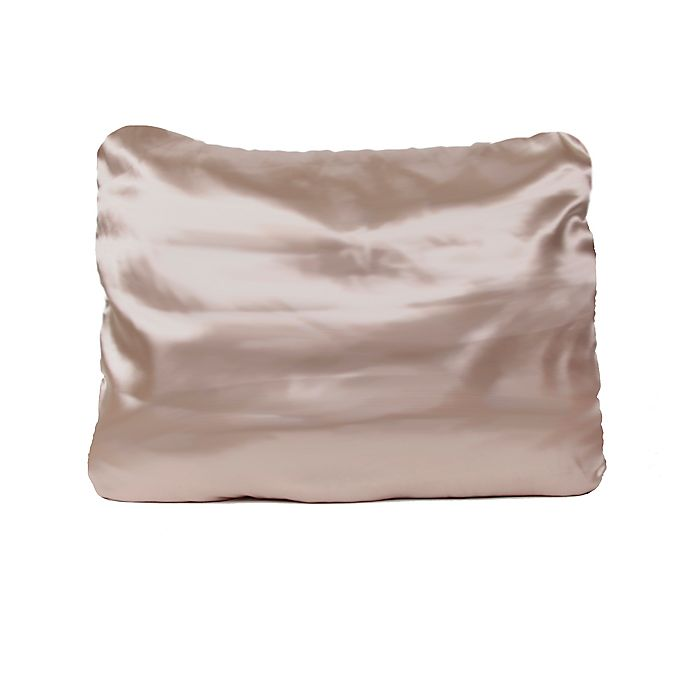 Alternate image 1 for Morning Glamour Standard/Queen Pillowcases in Gold (Set of 2)