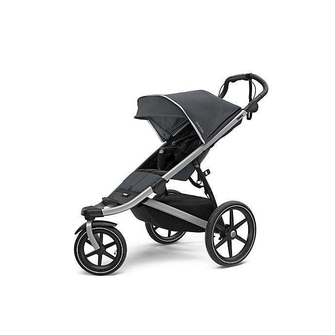 Alternate image 1 for Thule® Urban Glide 2 All-Terrain & Jogging Stroller in Dark Shadow/Silver