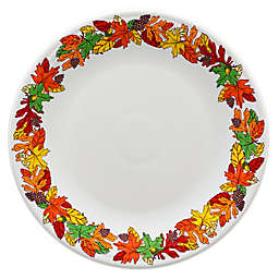 Fiesta® Fall Fantasy Charger Plate in White