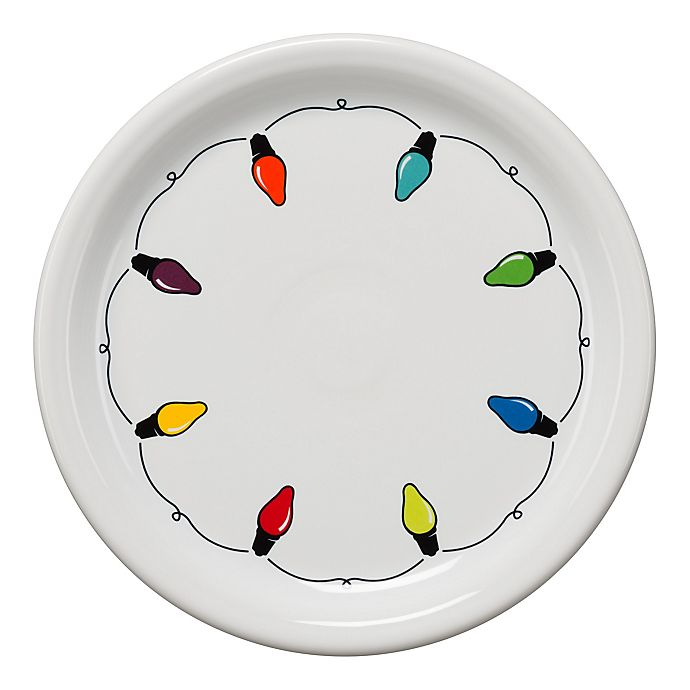 Alternate image 1 for Fiesta® Lights Bistro Buffet Plate in White