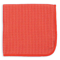 MU Kitchen™ Microfiber Waffle Dish Cloths in Coral (Set of 3)