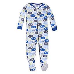 Lamaze® Alien Yea Organic Cotton Footed Pajama in Blue