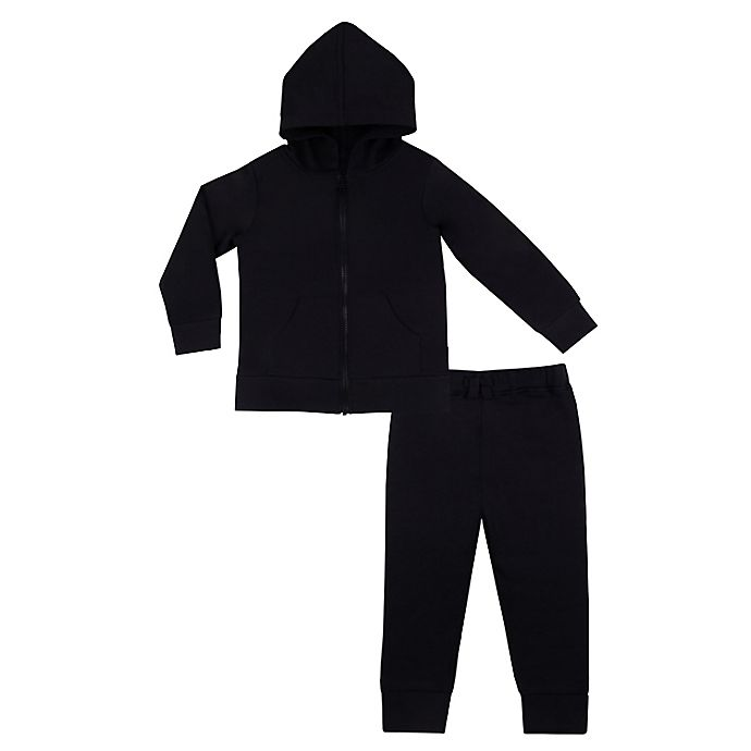 Alternate image 1 for Lamaze® 2-Piece French Terry Hoodie and Jogger Set