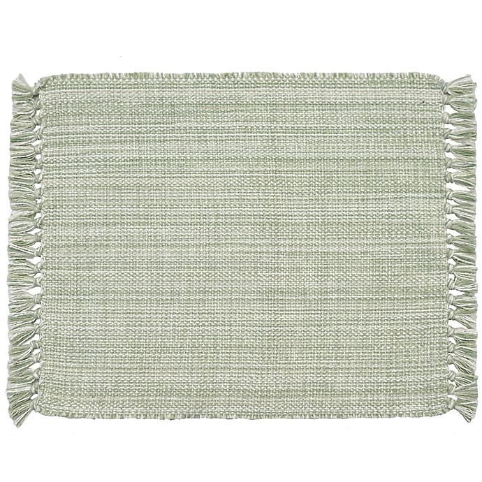 Alternate image 1 for Bee & Willow™ Home Fringed Placemats (Set of 4)