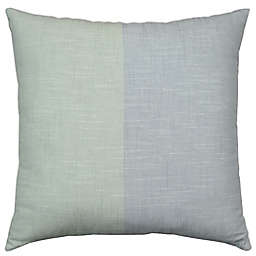 Bee & Willow™ Home Colorblock Square Throw Pillow in Teal/Mint