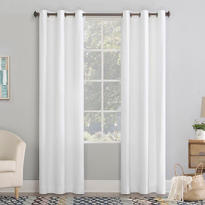 Lindstrom Room Darkening Grommet Window, White Room Darkening Curtains Canada