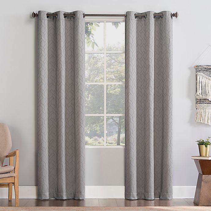 Alternate image 1 for No. 918®  Martias Room Darkening Window Curtain Panel (Single)