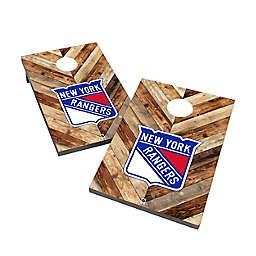 NHL New York Rangers Cornhole Bag Toss Set