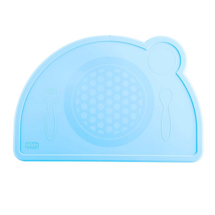 Alternate image 1 for Chicco® Easy Tablemat Silicone Placemat in Teal