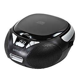 Craig AM/FM CD Boombox in Black