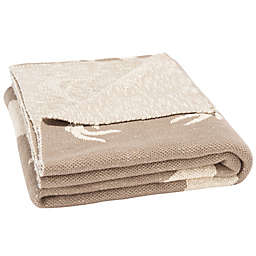 Safavieh Reversible Yule Throw Blanket in Grey