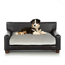 Club Nine Pets Metro Small Orthopedic Dog Bed in Silver