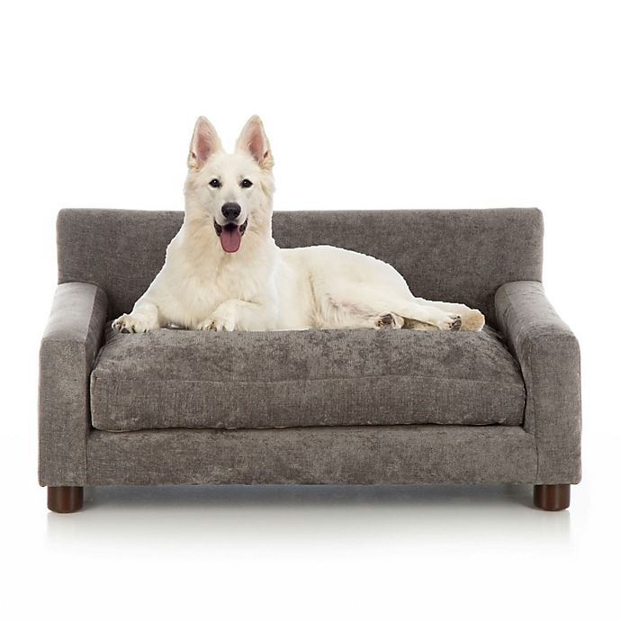 Alternate image 1 for Club Nine Pets Metro Orthopedic Large Dog Bed in Charcoal