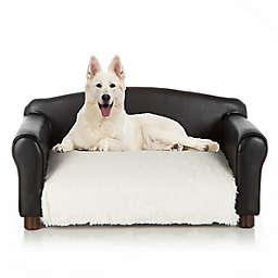Club Nine Pets Weston Orthopedic Large Dog Bed in Ivory