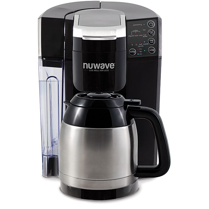 Alternate image 1 for NuWave® BruHub™ Coffeemaker with Stainless Steel Carafe