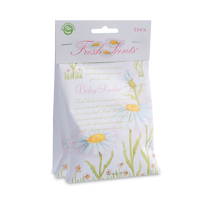 Alternate image 1 for Fresh Scents™ Scent Packets in Baby Powder (Set of 3)