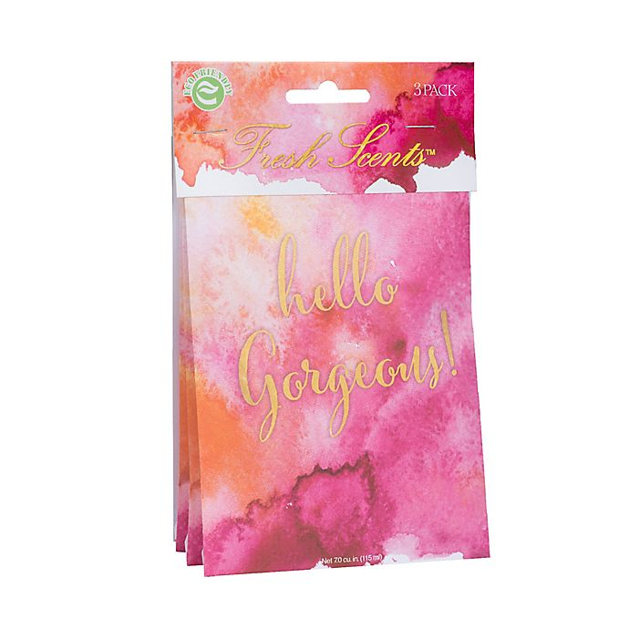 Alternate image 1 for Fresh Scents™ Hello Gorgeous Scent Packets (Set of 3)