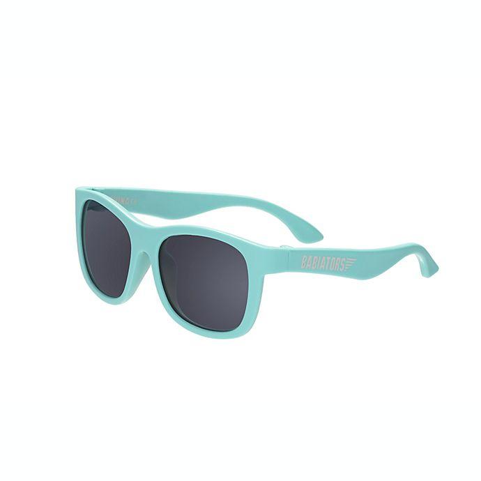 Alternate image 1 for Babiators® Original Navigator Sunglasses in Totally Turquoise