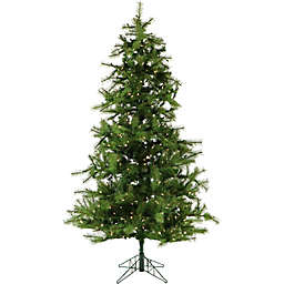 Fraser Hill Farm Southern Peace Pine Pre-Lit Artificial Christmas Tree with LED Clear Lights