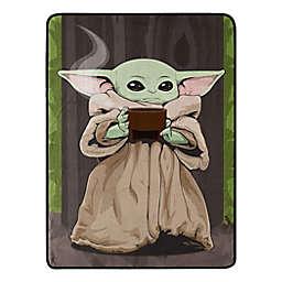 "Star Wars™ The Mandalorian ""Quiet Soup"" Throw Blanket"