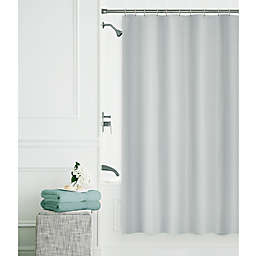 Smart Clean 14-Piece 70-Inch x 72-Inch Shower Set in Silver