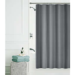 Smart Clean 14-Piece 70-Inch x 72-Inch Shower Set in Charcoal
